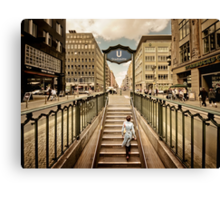 Berlin - Urban Core   01 Canvas Print