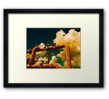 Cloud Manufacturing Machinery Framed Print