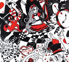 Alice in Freakingland by Nuni Ed