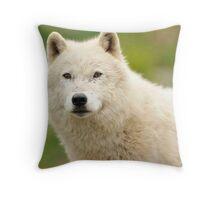 Just a little curious Throw Pillow