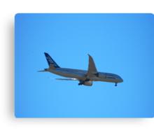 Boeing 787 Dream Liner Canvas Print