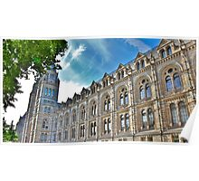 Natural History Museum Exterior Poster