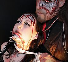 Cyborg Lovers - Alyssa Hedrick and Jason Collier by Bumzigana