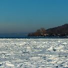 Ice Fishing on Cayuga by AlGrover