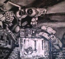 Wall-E: Animated Animation by Nikki Portanova
