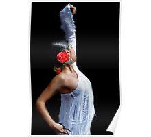 Spanish Rose Poster