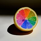 Lemon Colour Wheel by Sarah Moore