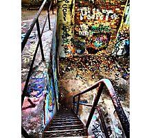 'PUNT' Photographic Print