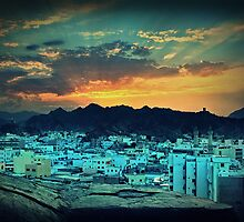 *Sunset@Muscat* by abhishek dasgupta