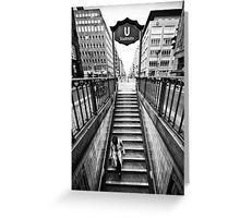 Berlin - Urban Core | 03 Greeting Card