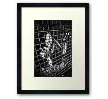 Do you wanna play? Framed Print