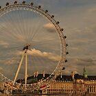 London Eye - looking at me by Amir Sabanovic