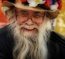 Happy Hat Man by Karen Martin