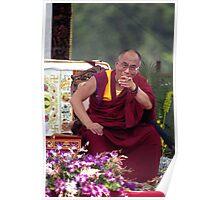 His Holiness the Dalai Lama - Washington D.C.  A.D.  2000 Poster