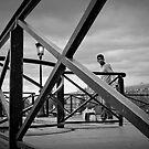 Pont des arts by Laurent Hunziker