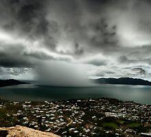 Cloudburst on Cleveland Bay by Steve Davis