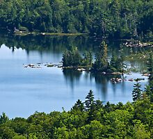Jordan Pond by Kathy Weaver