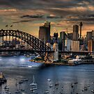 True Colours - Sydney Harbour (20 Exposure HDR Pano ) The HDR Experience by Philip Johnson