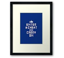 Keep Calm and Carry on Gaming2 Framed Print
