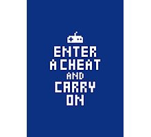Keep Calm and Carry on Gaming2 Photographic Print