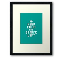 Keep Calm and Carry on Gaming3 Framed Print
