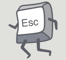 Esc Button - Escaping by DetourShirts