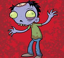 Cartoon Zombie by fizzgig