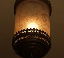 Antique Ceiling Fixture  by heatherfriedman
