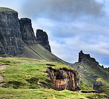 Trotternish ridge North (The Quiraing) Isle of Skye by Panalot