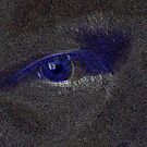 My Eye In Perspective of Blue by AlGrover