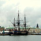 "The City of Gothenburg & East Indiaman ""Götheborg"" by HELUA"