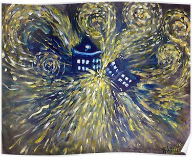 The Pandorica Opens Doctor Who Painting by Alizey Khan