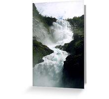 Waterfall - Kjosfossen, Norway Greeting Card