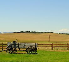 Home On The Range, Orderville, Utah by Eleu Tabares