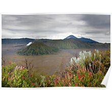 Sunrise of Mount Bromo Poster