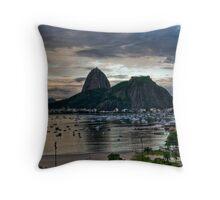 Sugar Loaf, Rio de Janeiro Throw Pillow