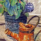 Back Porch Still Life by Jim Phillips