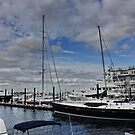 New Bedford Harbour : Massachusetts. USA by AnnDixon