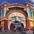 Luna Park  Melbourne  Australia by William Bullimore