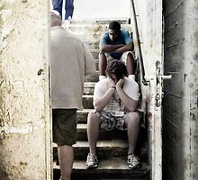 deep sadness, Mauthausen Concentration Camp (Austria) by daniwillis