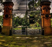 All That Remains - The Garden Palace, Royal Botanical Gardens, Sydney - The HDR Experience by Philip Johnson