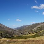 Snowy Mountains Dead Horse Lookout by Cathy McAdie