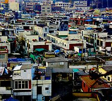 """Sunless Cityscapes"", Suwon, South Korea by Jennii Booth"