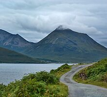 Mountains on Skye from Rassay coast by Panalot