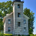 Sodus Point Lighthouse by Monte Morton