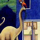 The Great Escape! (At Night via Brontosaurus) by Tim Gorichanaz