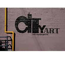 Credit to Cityartproject.ca  Photographic Print