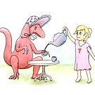 Tea Party with a Velociraptor  by Tim Gorichanaz
