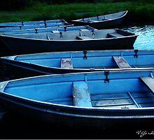 Blue Boats by vigor