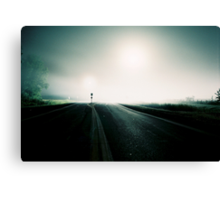 Highway at night number 2 Canvas Print